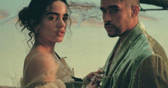 """Rosalía nos recuerda a """"Bridgerton"""" en el video con Bad Bunny """"La noche de anoche"""""""