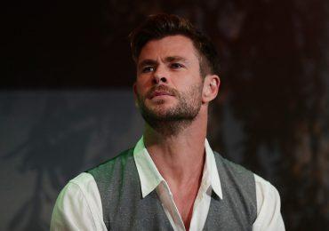 Chris Hemsworth al borde de las lagrimas por carta que le escribió su hijo