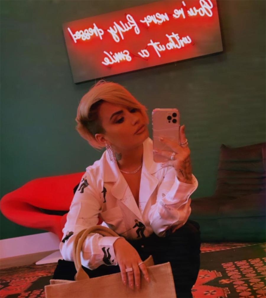 El pelo corto de Demi Lovato es más que un cambio de look; aquí su significado
