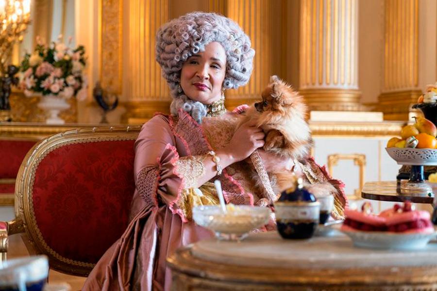 Golda Rosheuvel reina edad bridgerton