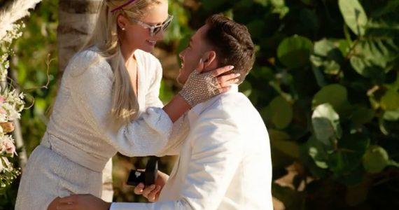En su cumple 40, Paris Hilton se compromete con Carter Reum