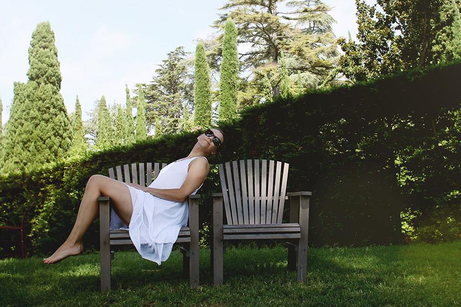 Vestir de blanco para la primavera