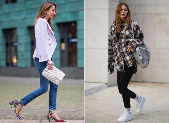 """¿'Skinny' o pantalones anchos? La """"guerra"""" por los jeans entre millennials y centennials"""