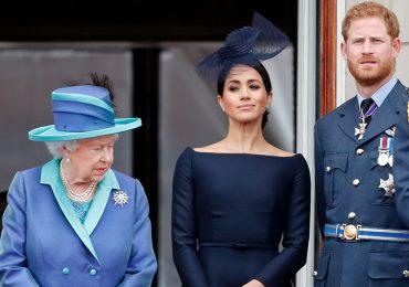 La familia real ha hablado con Harry, pero no ha contactado a Meghan Markle