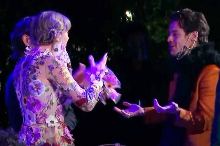 ¿Qué se dijeron Harry Styles y Taylor Swift en los Grammy?