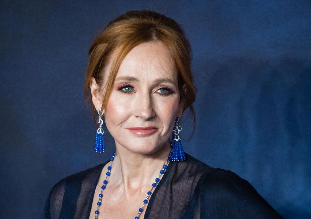J.K. Rowling autora de Harry Potter