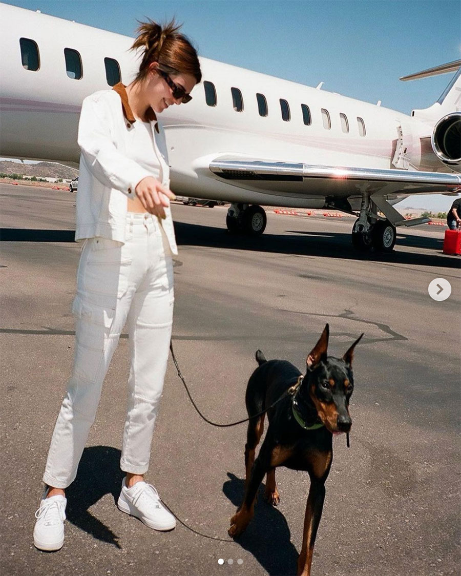 Kendall Jenner contrata más guardias armados tras amenazas de muerte e intruso desnudo