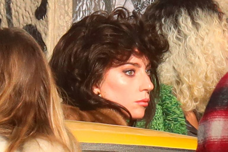 Primeras fotos: el look de Lady Gaga en la película 'House of Gucci'