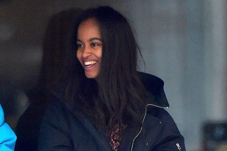 Malia Obama ya trabaja como escritora para una serie de televisión de Amazon