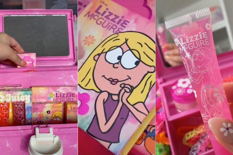 """¡Lanzarán colección de maquillaje inspirada en """"Lizzie McGuire""""!"""