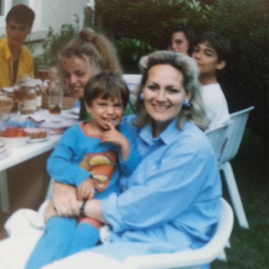La adorable foto de Henry Cavill que demuestra que desde niño fue Superman