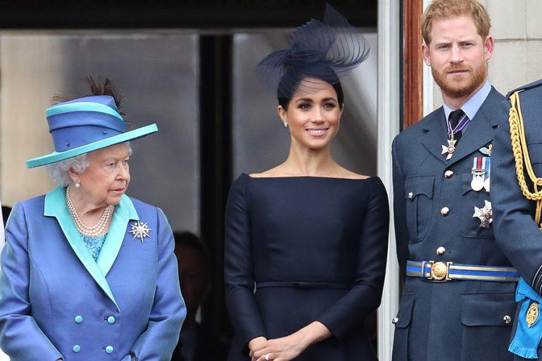 La reina Isabel planea extender ofrenda de paz a Harry y Meghan