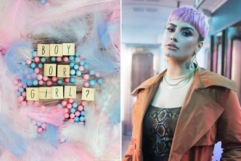 """Son transfóbicas"": Demi Lovato critica las fiestas revelación de género"