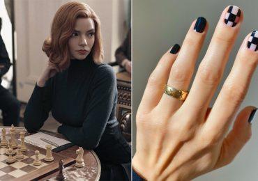 """Ideas de diseños de uñas inspirados en """"Gambito de Dama"""""""