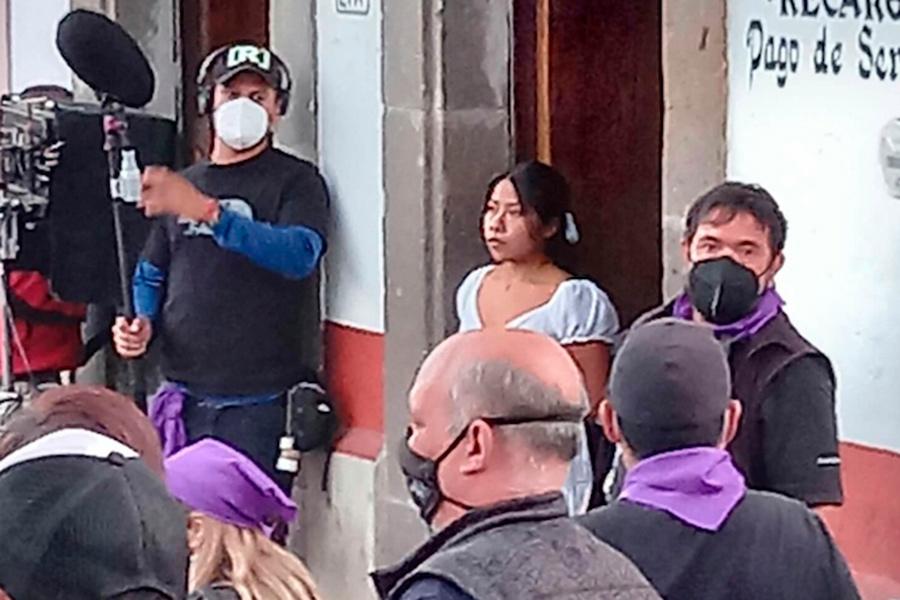 Yalitza Aparicio regresa a la actuación; ya filma película con Luis Mandoki