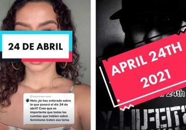 24 de abril se vuelve tendencia en TikTok por reto contra las mujeres