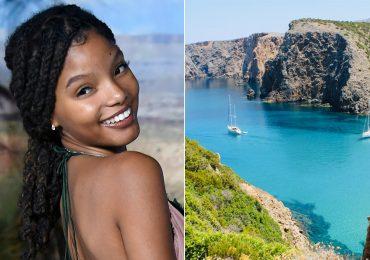 """""""La Sirenita"""" de Halle Bailey se rodará en Cerdeña, isla italiana"""
