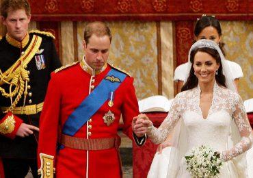 La broma que el príncipe William hizo sobre Harry en su boda, hace 10 años