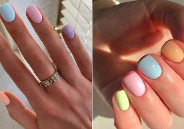 Las pruebas de que los colores pastel en las uñas están de moda
