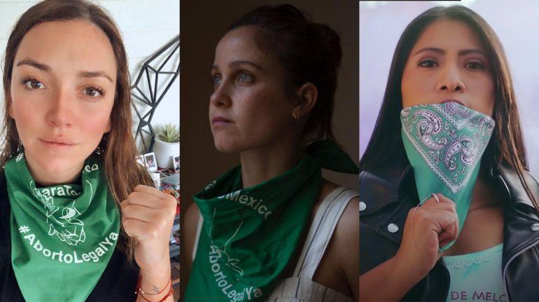 Famosas que se han pronunciado a favor del aborto legal en México