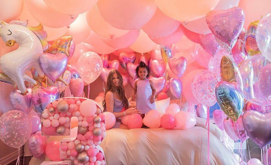 ¡Como cuento de hadas! Así celebra Khloé Kardashian los 3 años de su hija