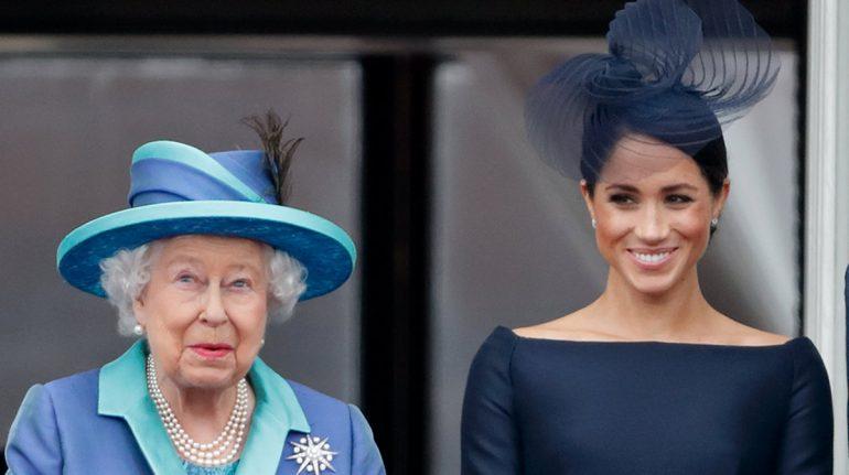 Meghan Markle y Archie han estado en contacto con la reina