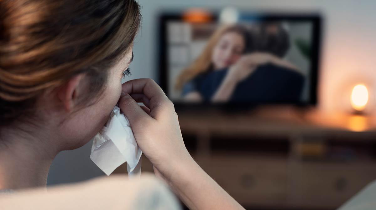 personas que lloran con peliculas son fuertes