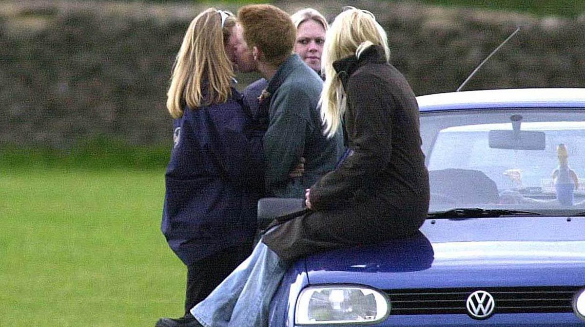momentos más rebeldes del príncipe Harry