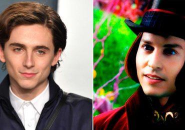 Timothée Chalamet será el nuevo Willy Wonka de joven