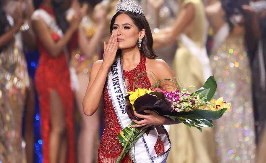 Miss Universo Andrea Meza sin maquillaje