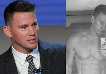 Channing Tatum presume abdomen de acero en foto completamente desnudo