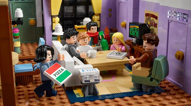 'Friends': crean set de juguetes de la serie