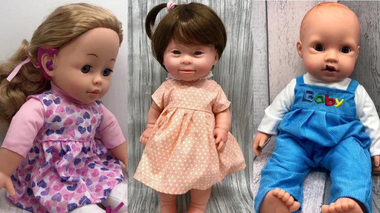 Mamá crea muñecos con discapacidades para promover la inclusión través del juego