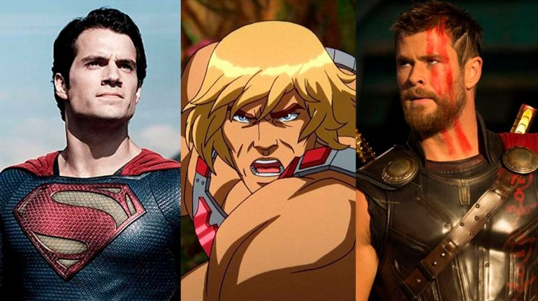 ¿Henry Cavill o Chris Hemsworth? Los actores 'pelean' por ser el nuevo He-Man