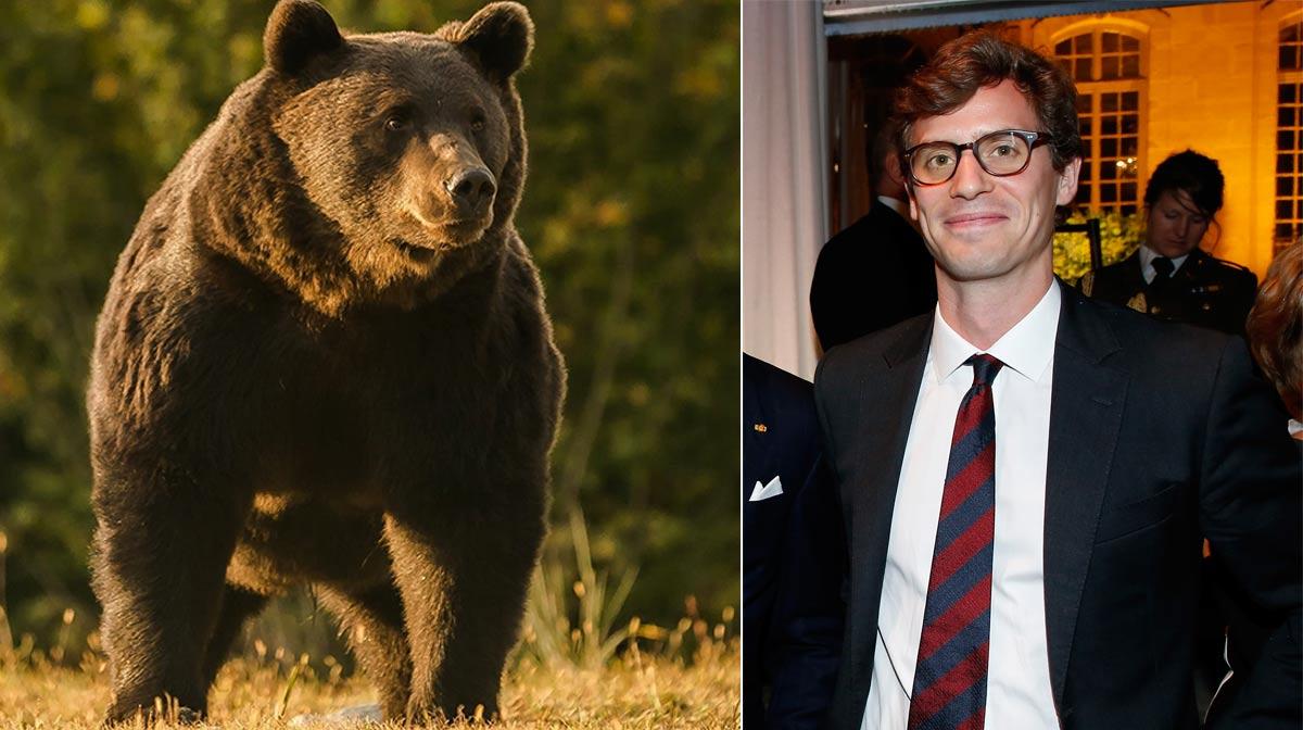 Fotos: el oso tomado por Agent Green/ Príncipe Emanuel de Liechtenstein. Getty Images