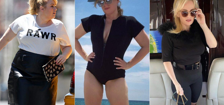 fotos transformación cuerpo peso Rebel Wilson