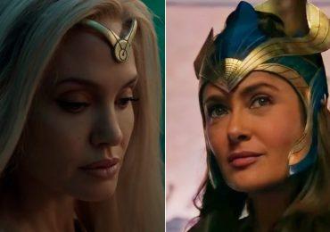 """Salma Hayek y Angelina Jolie son """"Eternals"""" (¡y también de belleza eterna!)"""