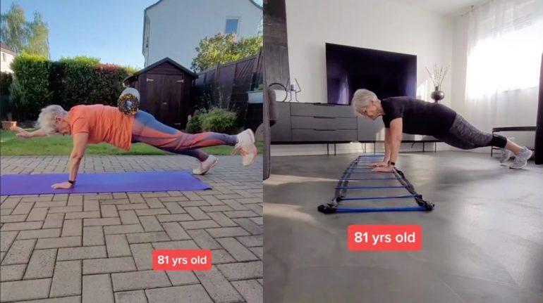 Ponte en forma con la 'abuela fitness' de TikTok, tiene 81 años y sus rutinas son una sensación
