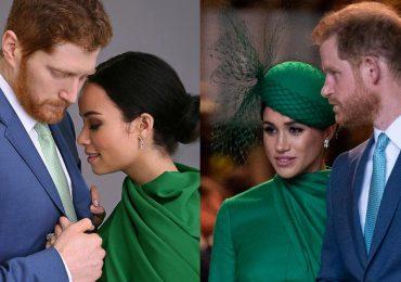 ¿Se parecen? Ellos son los actores que interpretarán a Meghan Markle y el príncipe Harry en película