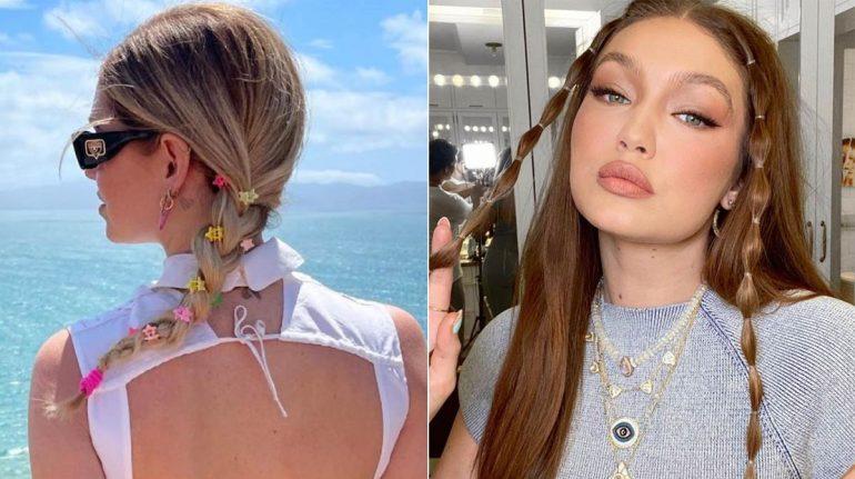 Detalles y accesorios noventeros que son tendencia en los peinados y deberías usar
