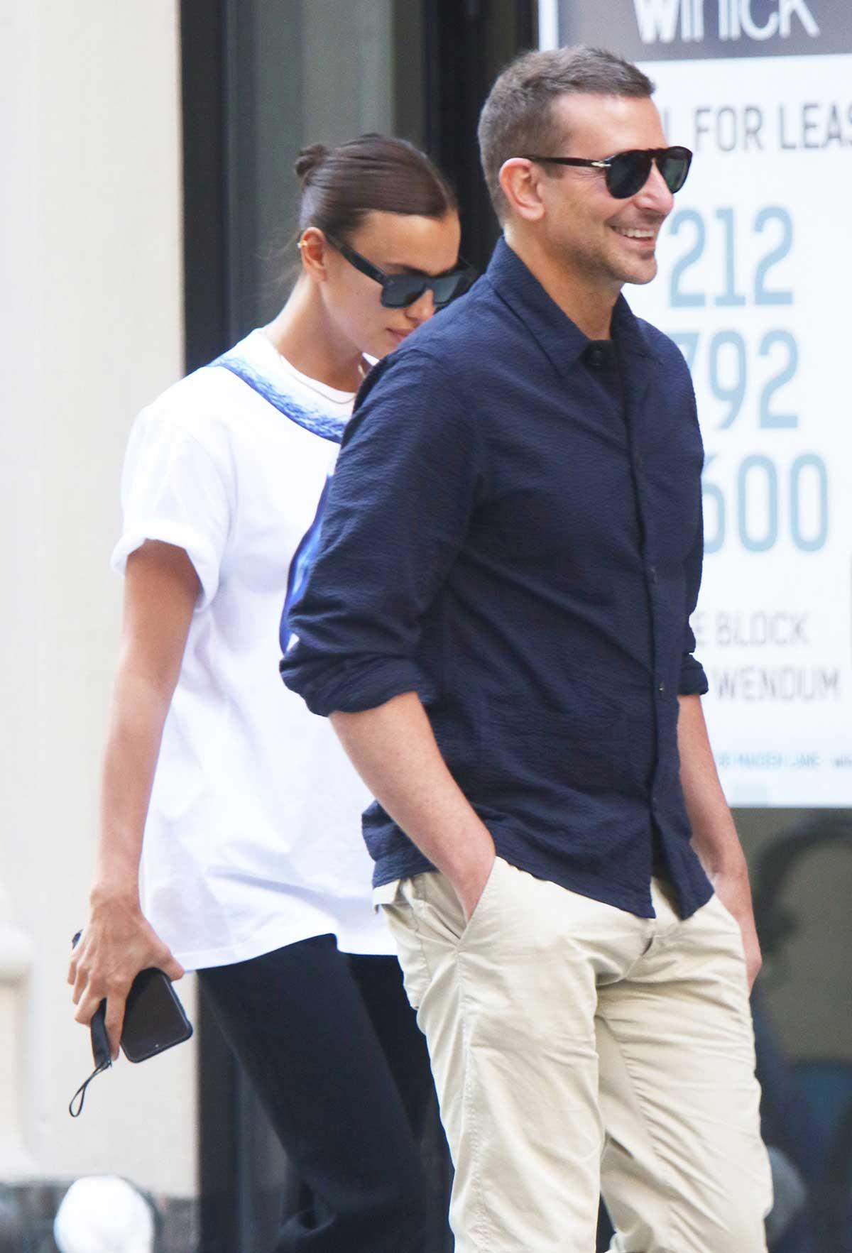 Irina Shayk se deja ver con Bradley Cooper tras rumores de romance con Kanye West