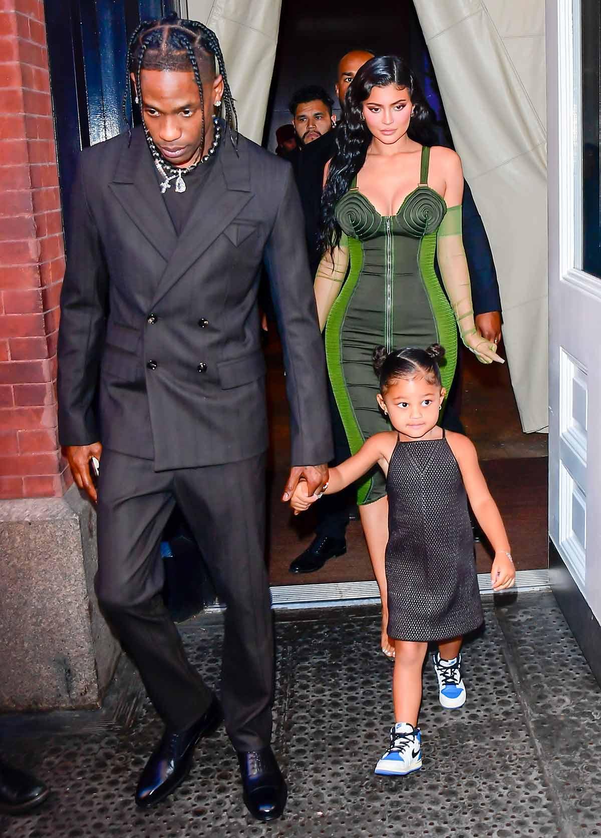 Kylie Jenner Travis Scott juntos otra vez él la llama esposa