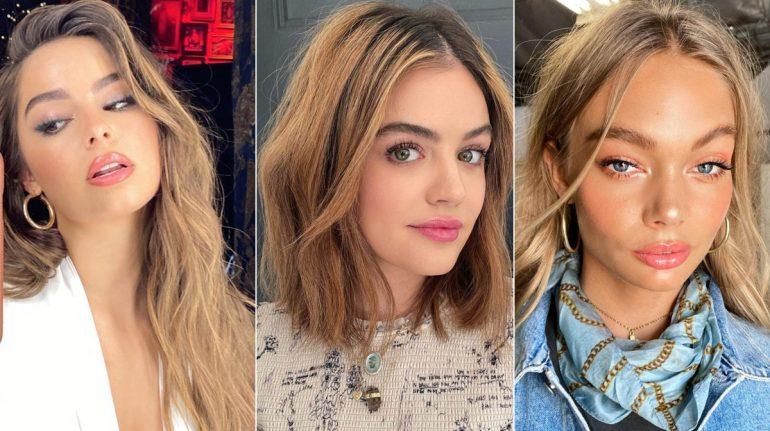 10 ideas para agregar color caramel en tu pelo y darle luz a tu rostro