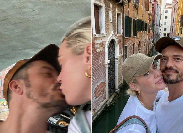 Katy Perry y Orlando Bloom de vacaciones románticas en Venecia