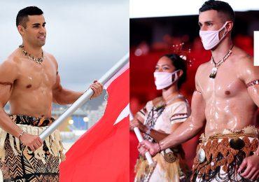 Pita Taufatofua, el atleta que robó cámara en la inauguración de los JO de Tokio
