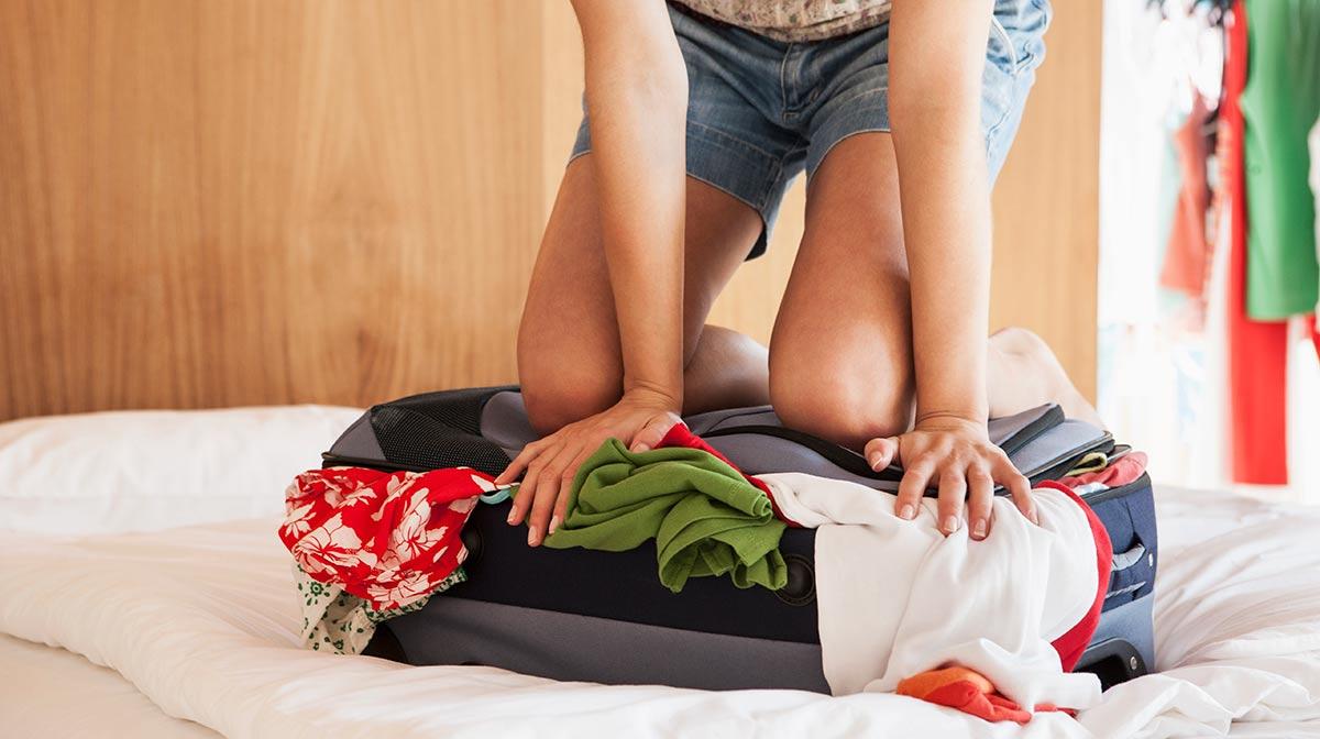 tips para ahorrar espacio en tu maleta y no dejar nada