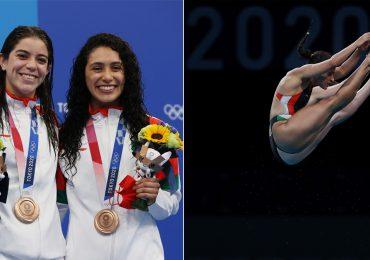 12 fotos de la impresionante sincronía de Gaby Agúndez y Ale Orozco, ganadoras de bronce
