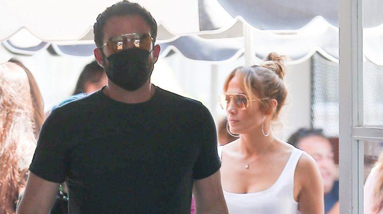 Jennifer Lopez y Ben Affleck hacen su debut juntos en Instagram