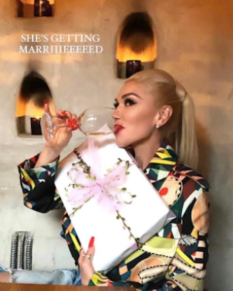 Gwen Stefani se casó con Blake Shelton en una ceremonia muy íntima