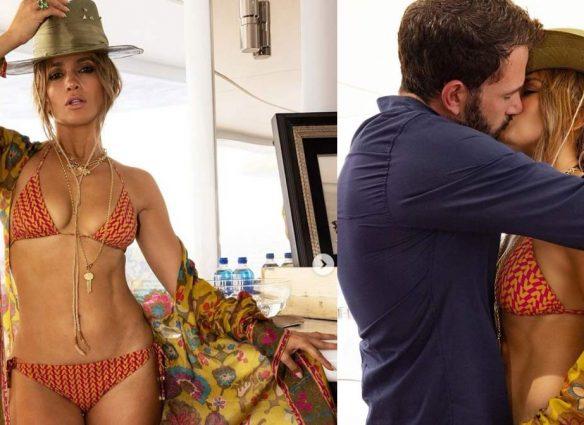 La foto de la relación oficial de Jennifer Lopez y Ben Affleck está rompiendo internet